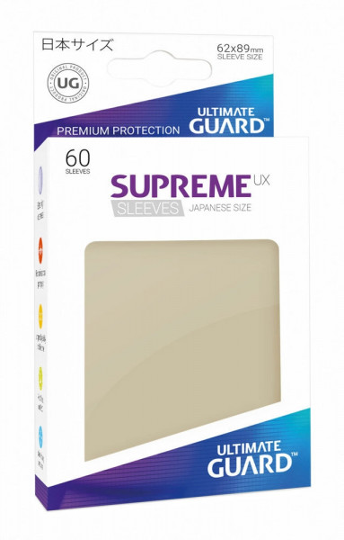 Supreme UX Sleeves - 62x89 (60), sand