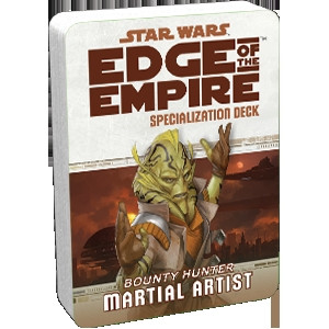 Star Wars: Edge of the Empire - Specialization Deck: Martial Artist