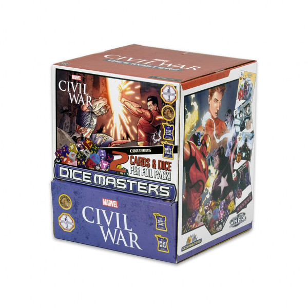 Dice Masters - Civil War: Gravity Feed (90 Booster)