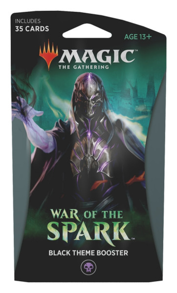 MTG - Theme Booster Pack: War of the Spark (black)