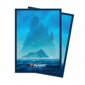 Deck Protector Sleeves - Magic the Gathering: Unstable Lands Island (100)