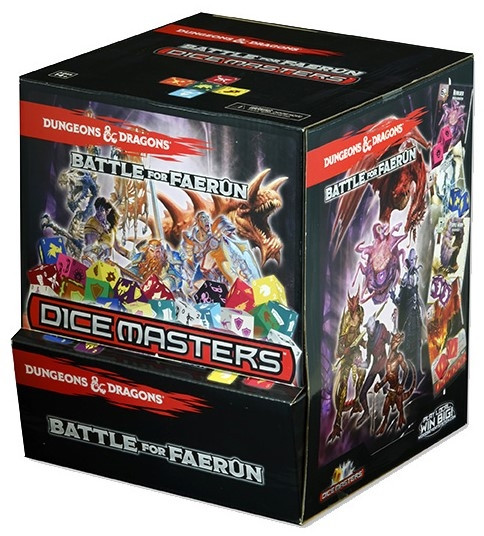 Dice Masters: Dungeons & Dragons - Gravity Feed: Battle for Faerûn