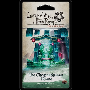 Legend of the Five Rings: The Card Game - Imperial 5: The Chrysanthemum Throne Dynasty Pack