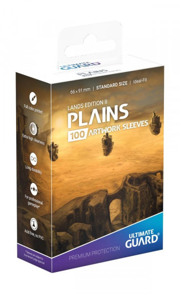 Ultimate Guard - Lands Edition II - Plains (Sleeves)