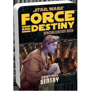 Star Wars: Force and Destiny - Specialization Deck: Sentry