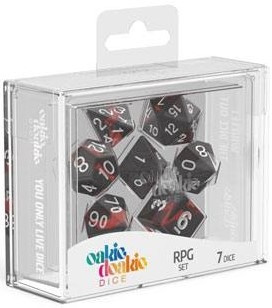 Oakie Doakie Dice - RPG Set Enclave Ruby (7)