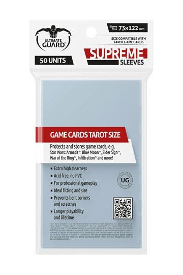 Supreme Sleeves - Tarot Size: 73x122 mm (50)
