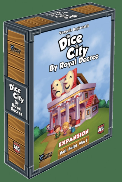 Dice City - Expansion: By Royal Decree