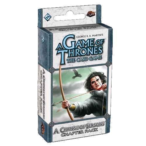 A Game of Thrones: The Card Game - A Time of Ravens 3: A Change of Seasons Chapter Pack
