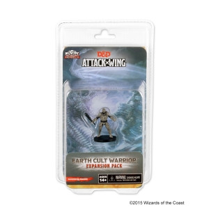D&D Attack Wing - Earth Cult Warrior Expansion Pack