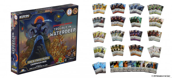 Dice Masters: Dungeons & Dragons - Campaign Box: Trouble in Waterdeep