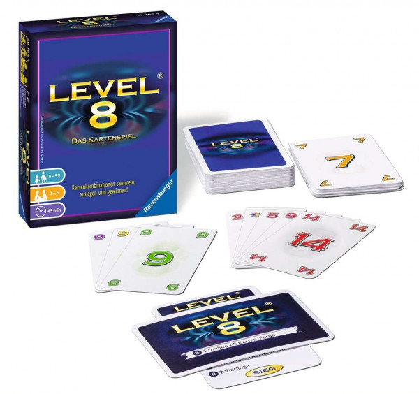 Level 8 - das Kartenspiel