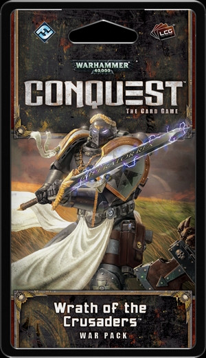 Warhammer 40,000 Conquest:The Card Game - Planetfall 5:Wrath of the Crusaders War Pack