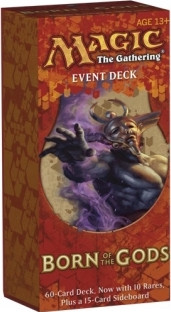 MTG - Event Deck, Born of the Gods: Underworld Herald (whiteblackred)
