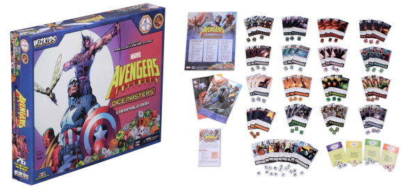 Dice Masters: Marvel - Campaign Box: Avengers Infinity