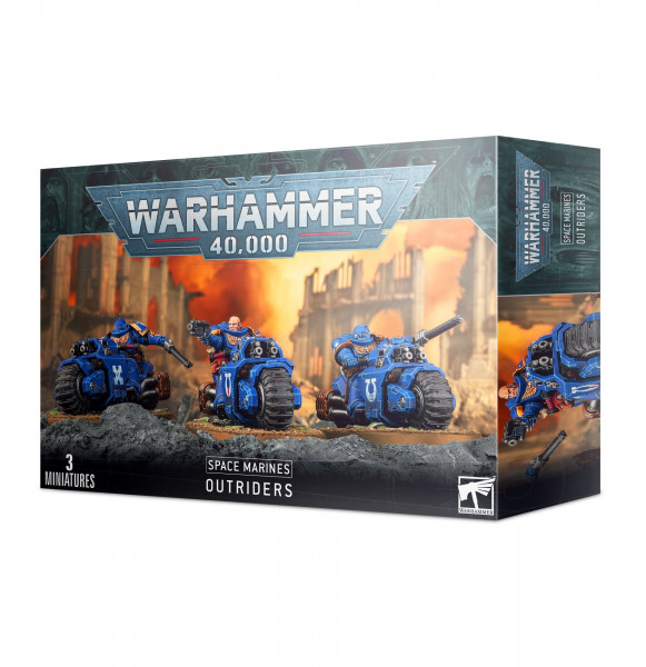 Warhammer 40,000 - Space Marines: Outriders