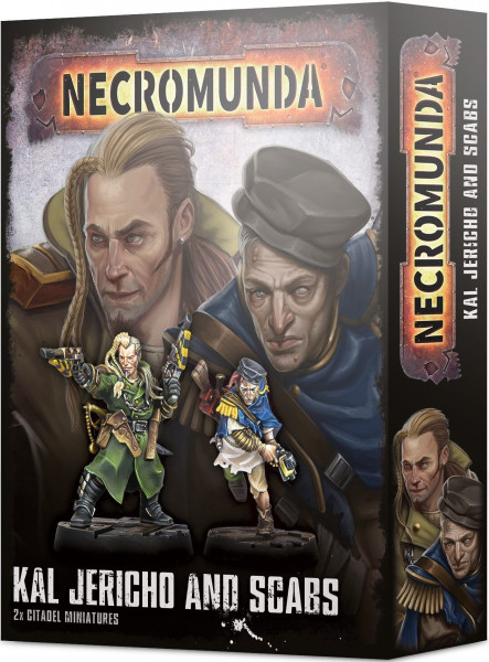 Necromunda - Kal Jericho and Scabs