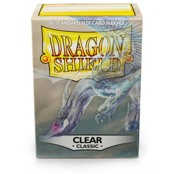 Dragon Shield - Card Sleeves: Classic Clear, Standard Size (100)