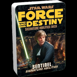 Star Wars: Force and Destiny - Signature Abilities Deck: Sentinel