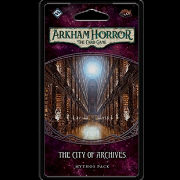 Arkham Horror: The Card Game - Forgotten Age 4: The City of Archives Mythos Pack