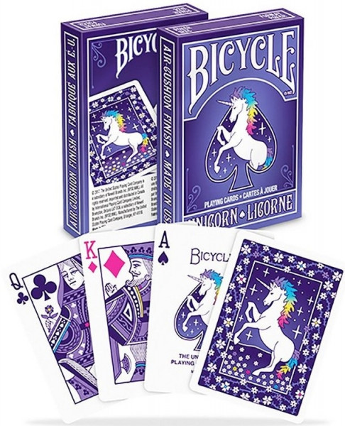 Bicycle Playing Cards - Unicorn