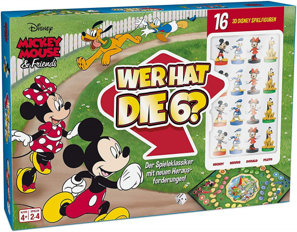 Mickey Mouse & Friends - Wer hat die 6?