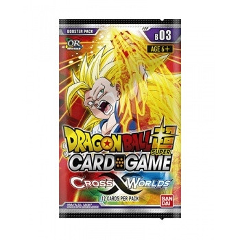 Dragon Ball Super Card Game - Display: Cross Worlds