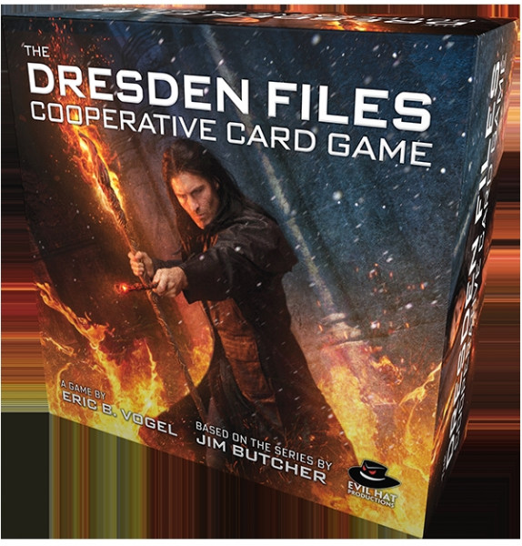 The Dresden Files - Cooperative Card Game