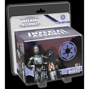 Star Wars: Imperial Assault - Villain Pack: BT-1, destructive assassin and 0-0-0, specialized in pai