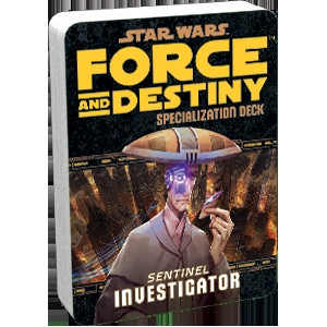 Star Wars: Force and Destiny - Specialization Deck: Investigator