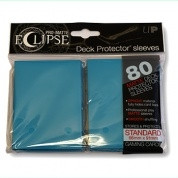 Deck Protector Sleeves - Pro-Matte Eclipse (80), light blue