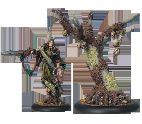 Hordes - Circle Orboros: Cassius the Oathkeeper & Wurmwood, Tree of Fate, Warlock & Solo
