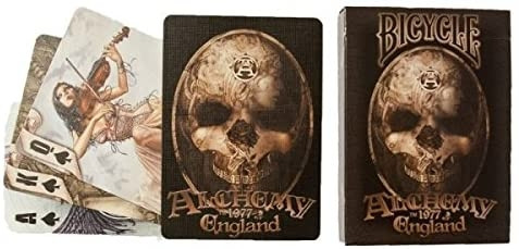 Bicycle Playing Cards - Alchemy 1977 England