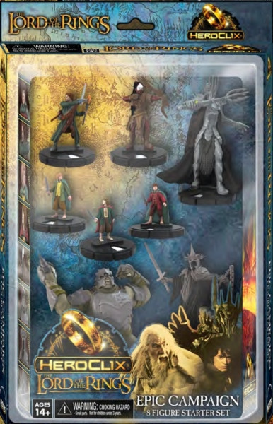 HeroClix - The Lord of the Rings Starter Set