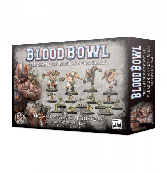 Blood Bowl - Fire Mountain Gut Busters - Ogre Gut Busters
