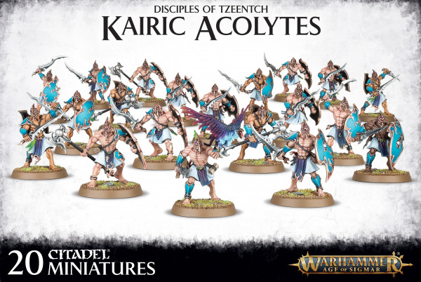 Warhammer: Age of Sigmar - Disciples of Tzeentch: Kairic Acolytes