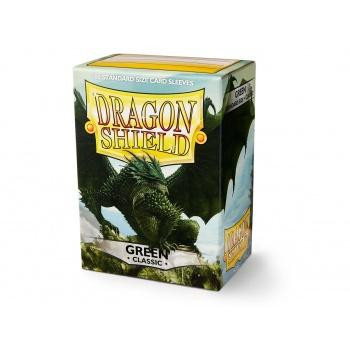 Dragon Shield - Card Sleeves: Classic Green, Standard Size (100)