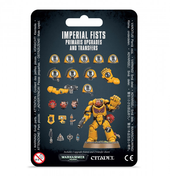 Warhammer 40,000 - Imperial Fists: Primaris Upgrades and Transfers