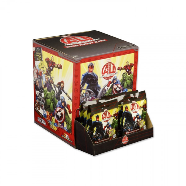 Dice Masters - Age of Ultron: Booster (dt./fr.)