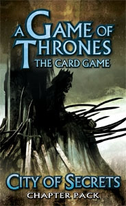 A Game of Thrones: The Card Game - King's Landing 1: City of Secrets Chapter Pack