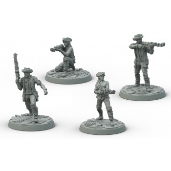 Fallout: Wasteland Warfare - Survivors Minutmen Posse