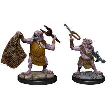 D&D - Nolzur's Marvelous Miniatures: Kuo-Toa & Kuo-Toa Whip