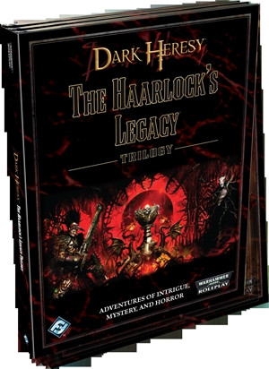 Dark Heresy - The Haarlock's Legacy Trilogy