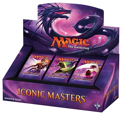 MTG - Booster Display: Iconic Masters