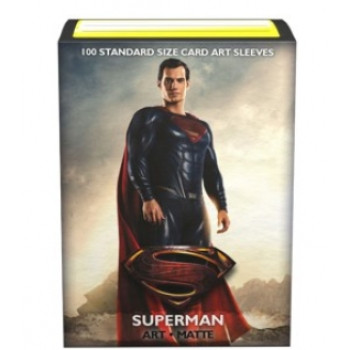 Dragon Shield - Justice League Matte Art Sleeves - Superman (100 Sleeves)
