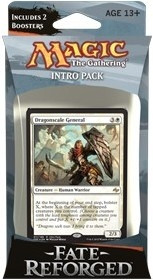 MTG - Intro Pack, Fate Reforged: Unflinching Assault (whiteblack)