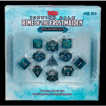 D&D RPG - Icewind Dale: Rime of the Frostmaiden - Dice Set