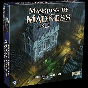 Mansions of Madness: Second Edition - Expansion: Streets of Arkham