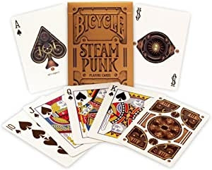 Bicycle Playing Cards - Steam Punk