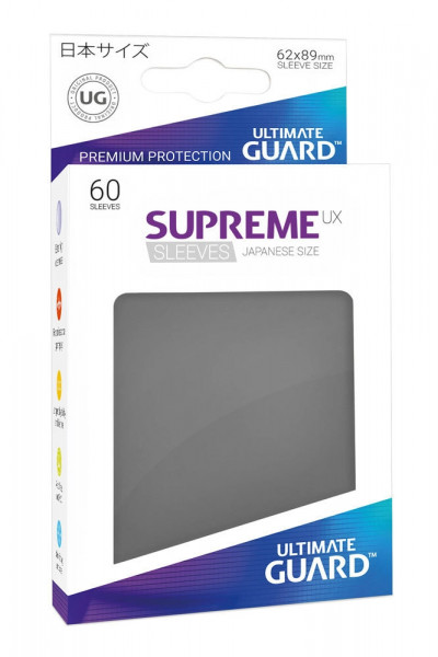 Supreme UX Sleeves - 62x89 (60), dark grey